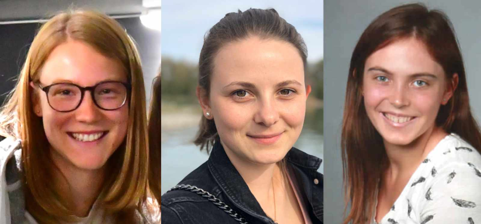 Unsere ISP-Studentinnen Fabienne Dinner, Jenny Neizert und Julia Joos